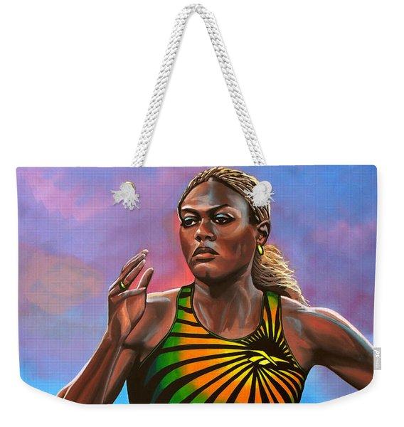 Merlene Ottey Weekender Tote Bag
