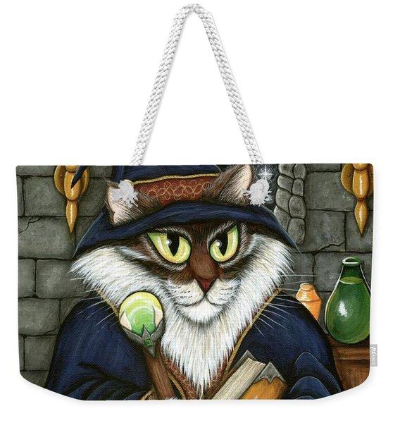 Merlin The Magician Cat Weekender Tote Bag