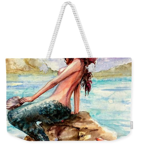 Mermaid 4 Weekender Tote Bag