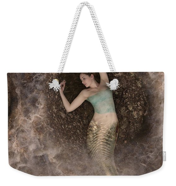Weekender Tote Bag featuring the photograph Mermaid by Clayton Bastiani