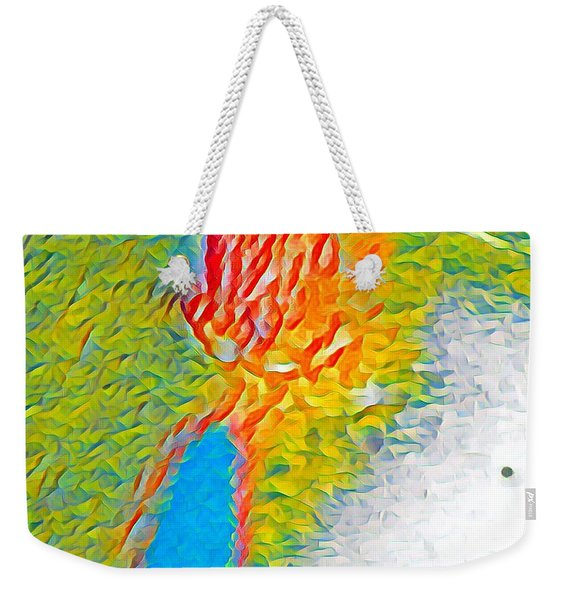 Mermaid Dives In Weekender Tote Bag