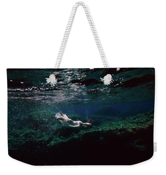 Mermaid Route Weekender Tote Bag