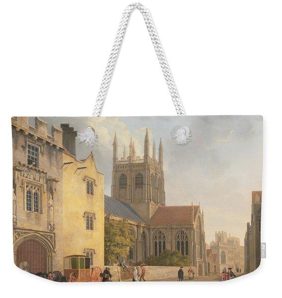 Merton College - Oxford Weekender Tote Bag