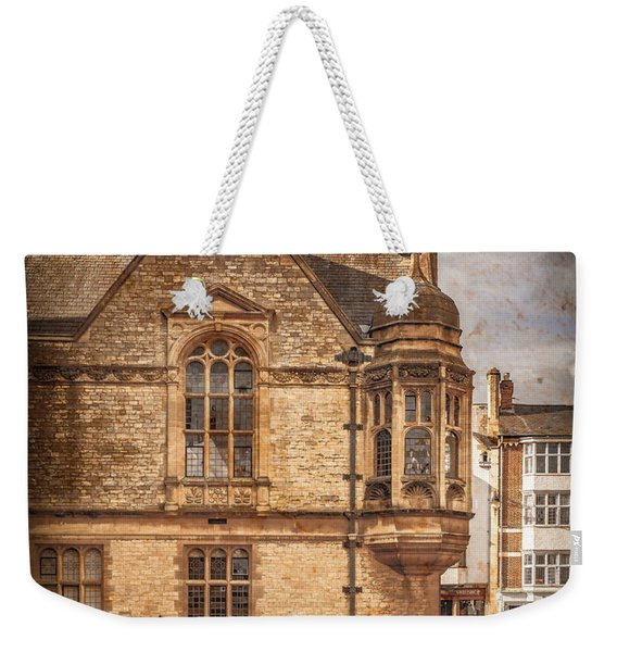 Oxford, England - Merton Street Weekender Tote Bag