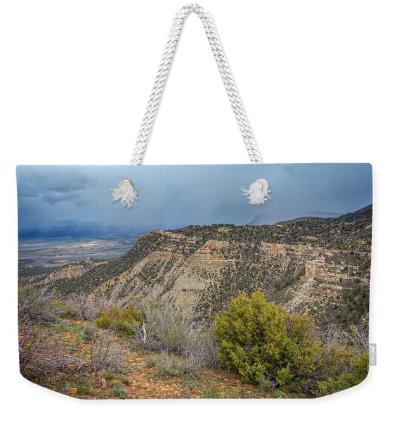 Mesa Verde National Park Colorado Usa Weekender Tote Bag