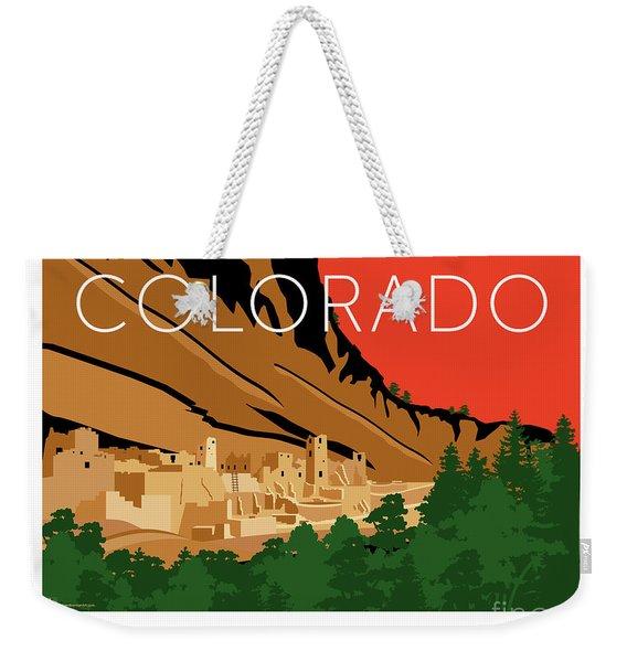 Mesa Verde Orange Weekender Tote Bag