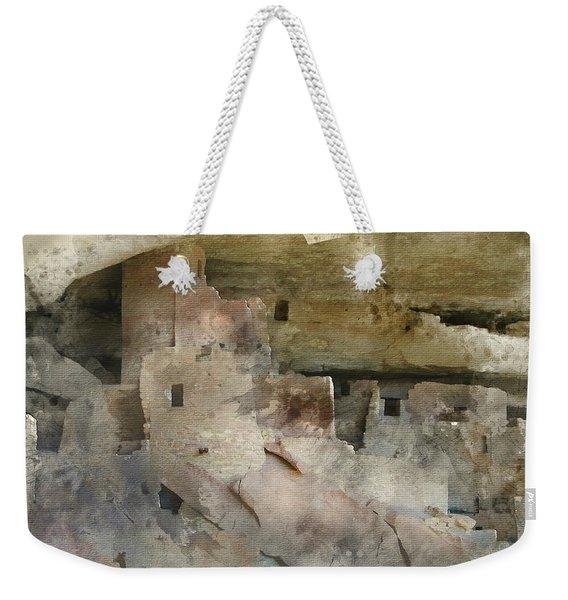 Mesa Verde Water Color Weekender Tote Bag