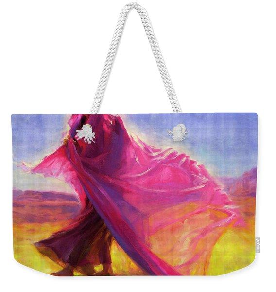 Mesa Walk Weekender Tote Bag