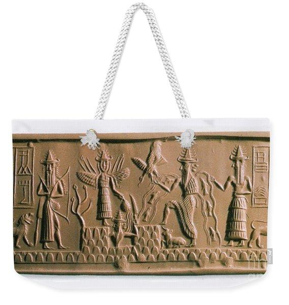 Mesopotamian Gods Weekender Tote Bag