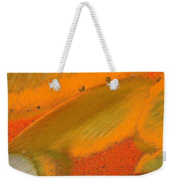 Metal Abstract Four Weekender Tote Bag