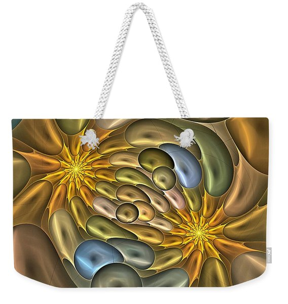 Metallic Mitosis Weekender Tote Bag
