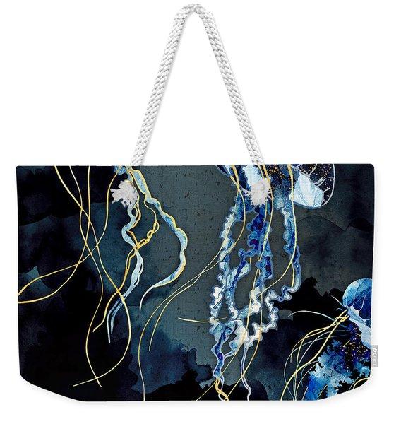 Metallic Ocean IIi Weekender Tote Bag