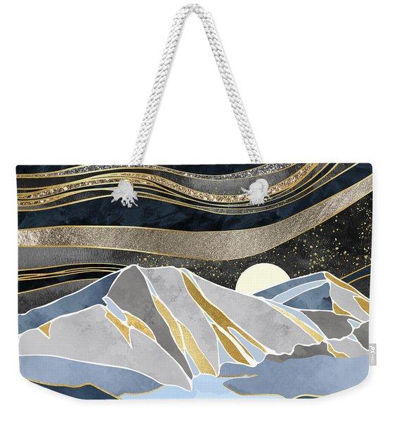 Metallic Sky Weekender Tote Bag