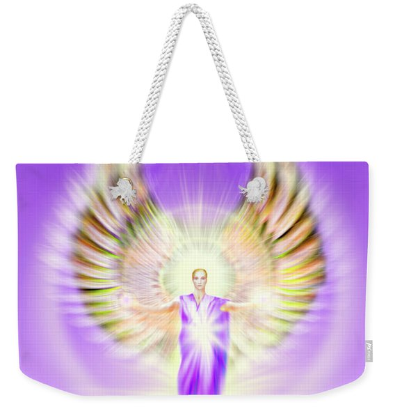 Metatron - Pastel Weekender Tote Bag