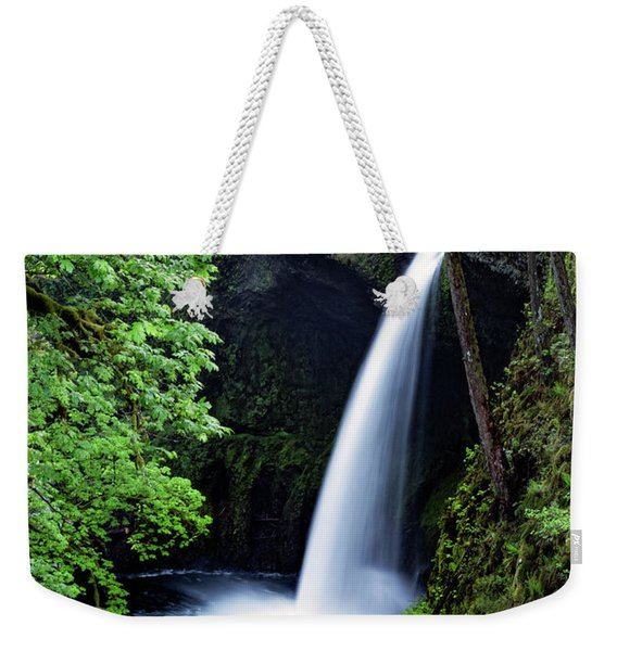 Metlako Falls Waterfall Art By Kaylyn Franks Weekender Tote Bag