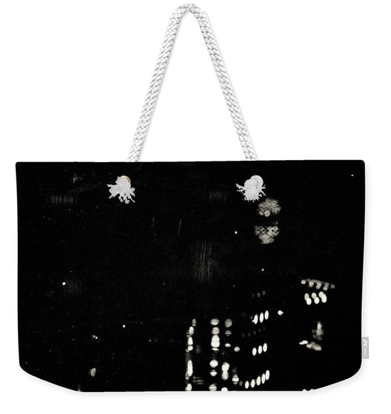 Weekender Tote Bag featuring the photograph Metropolis 002 by Clayton Bastiani
