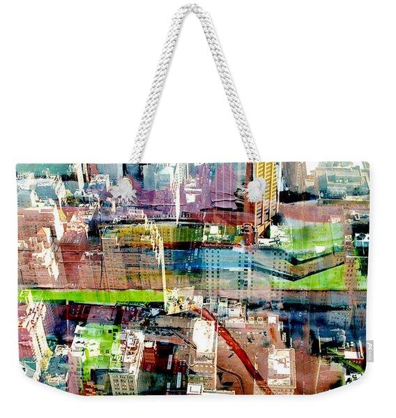 Metropolis II Weekender Tote Bag