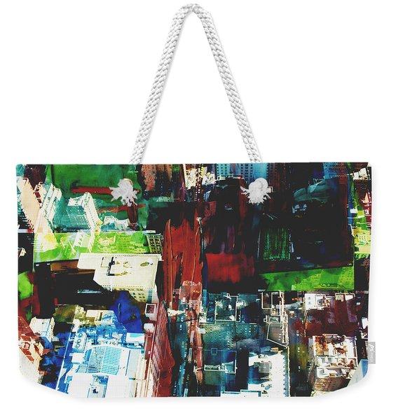 Metropolis Viii Weekender Tote Bag