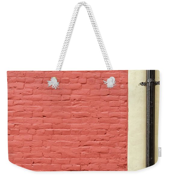 Weekender Tote Bag featuring the photograph Mews Spout by Eric Lake