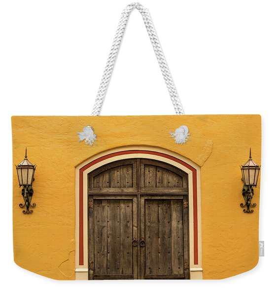 Mexican Door Weekender Tote Bag