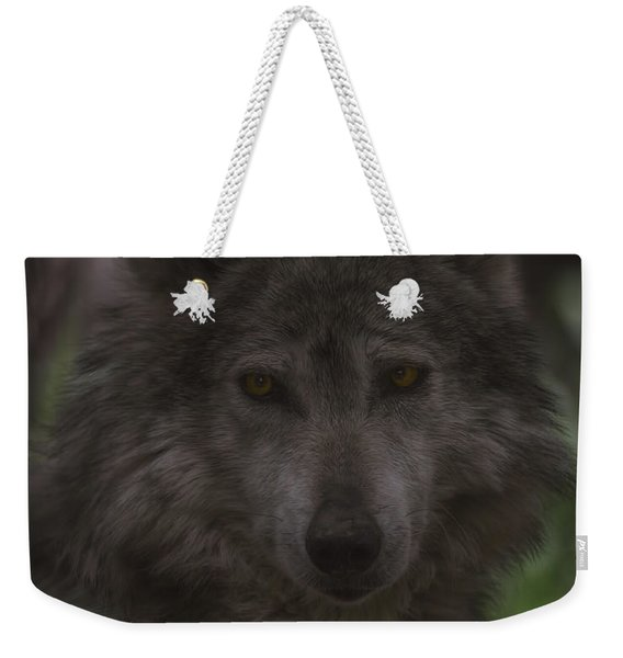 Mexican Grey Wolf Weekender Tote Bag