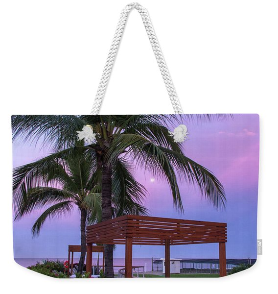 Mexican Moonrise Mexican Art By Kaylyn Franks Weekender Tote Bag