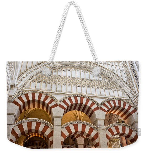 Mezquita Cathedral Architectural Details Weekender Tote Bag
