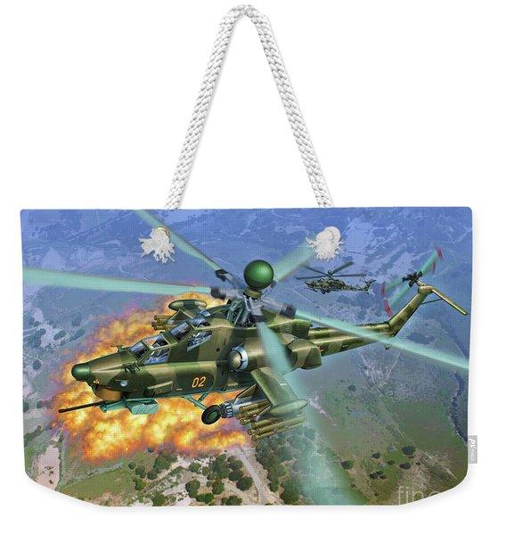 Mi-28 Havoc Weekender Tote Bag