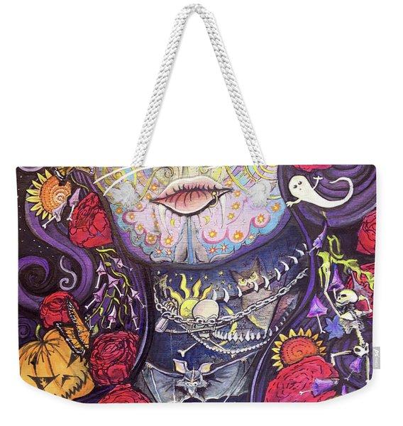 Mia De Los Muertos Weekender Tote Bag
