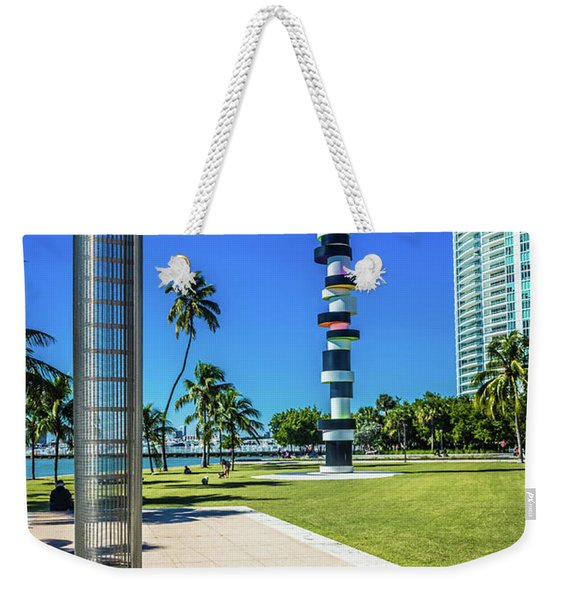 Miami Beach Series 4497 Weekender Tote Bag