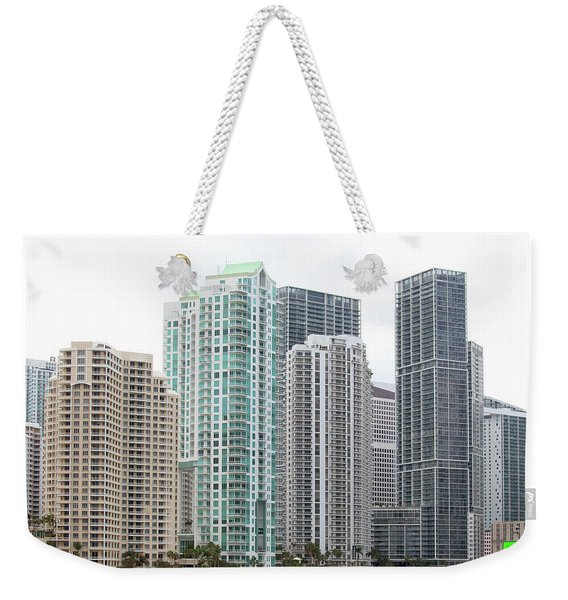 Miami Highrises Weekender Tote Bag