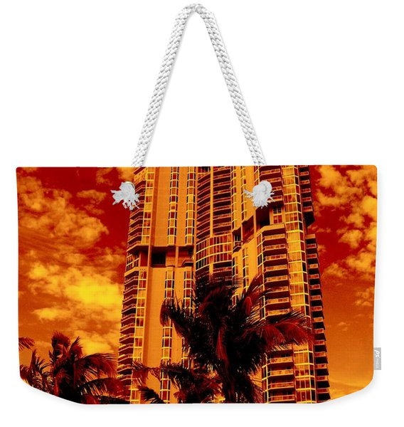 Miami South Pointe IIi Highrise Weekender Tote Bag