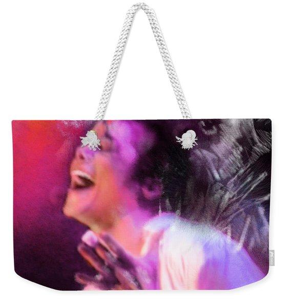 Michael Jackson 11 Weekender Tote Bag