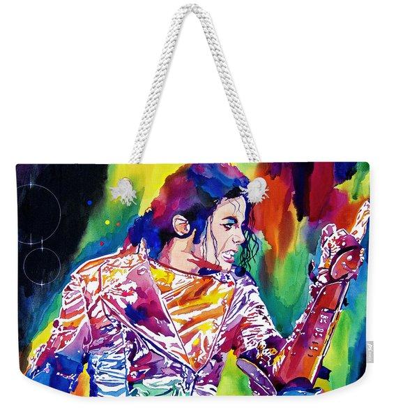 Michael Jackson Showstopper Weekender Tote Bag