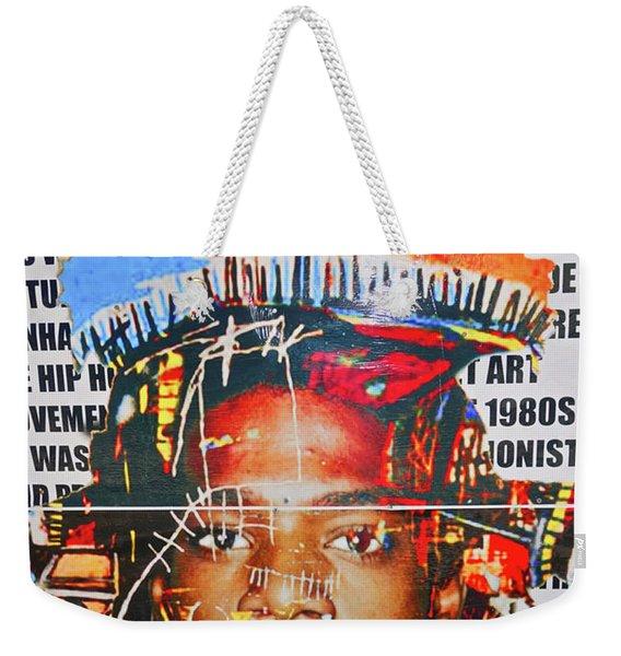 Michel Basquiat Weekender Tote Bag
