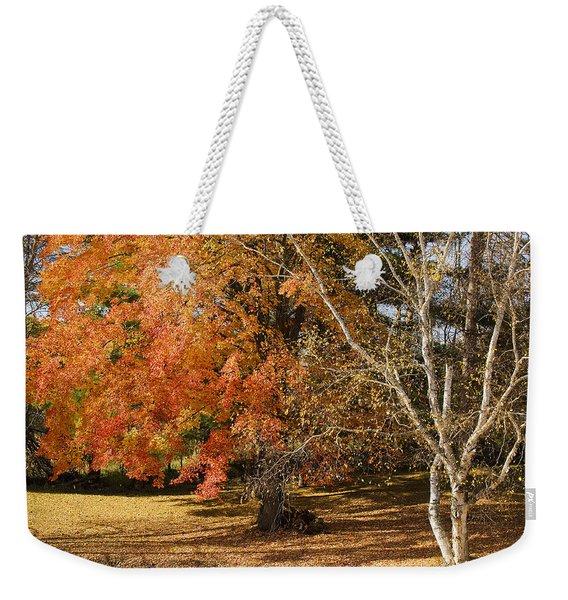 Michigan Autumn 1 Weekender Tote Bag