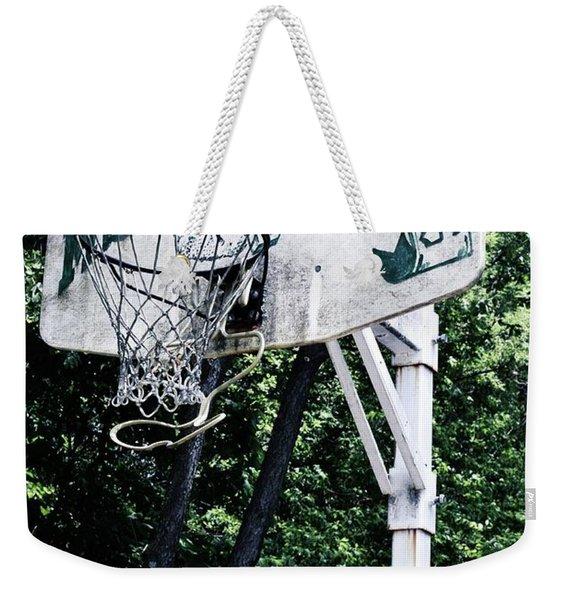 Michigan State Practice Hoop Weekender Tote Bag