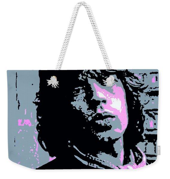 Mick Jagger In London Weekender Tote Bag