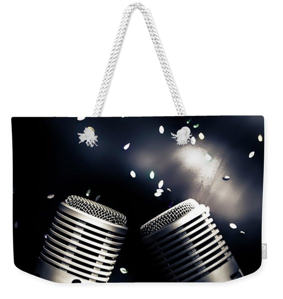 Microphone Club Weekender Tote Bag