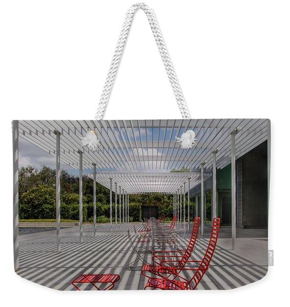 Mid-day Lines Weekender Tote Bag