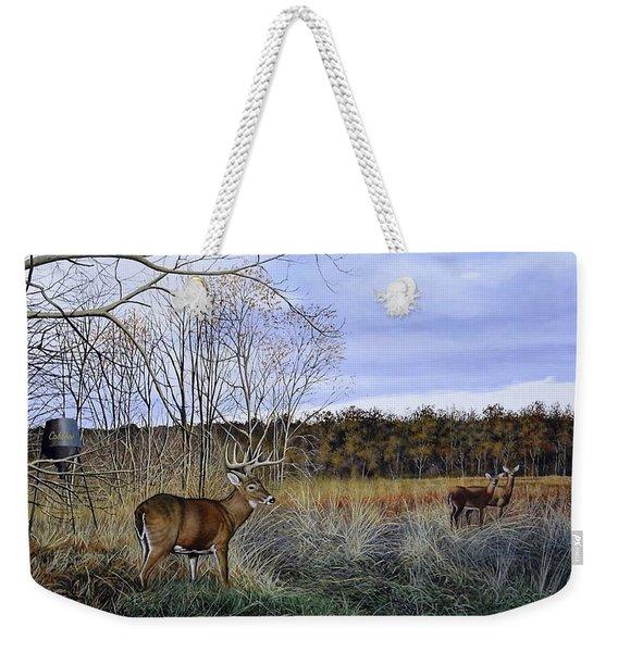 Take Out - Deer Weekender Tote Bag