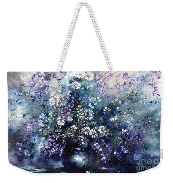 Mid Spring Blooms Weekender Tote Bag