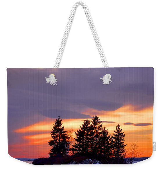 Middle Bay Island  Weekender Tote Bag