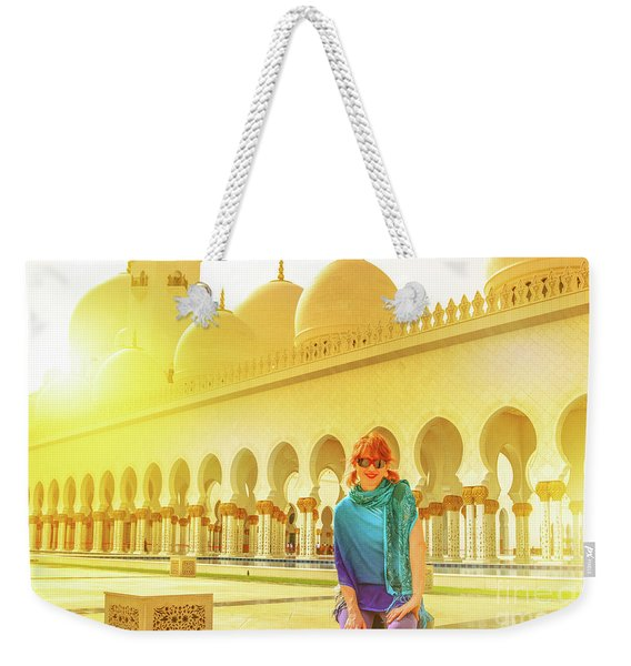 Middle East Tourism Concept Weekender Tote Bag