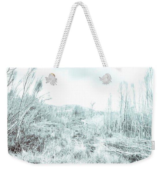 Middle Of Snowhere Weekender Tote Bag