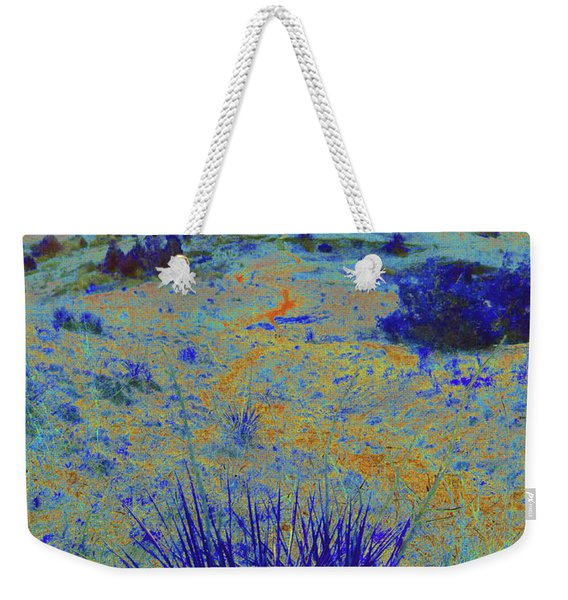 Weekender Tote Bag featuring the photograph Midnight At The Burning Coal Vein by Cris Fulton