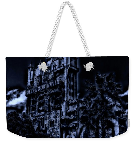 Midnight At The Tower Of Terror Mp Weekender Tote Bag