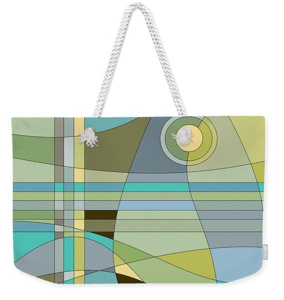 Midnight Breeze Weekender Tote Bag
