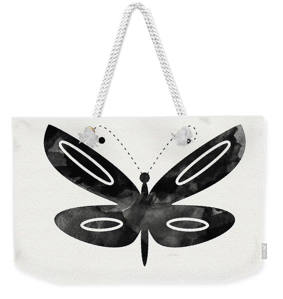Midnight Butterfly 1- Art By Linda Woods Weekender Tote Bag