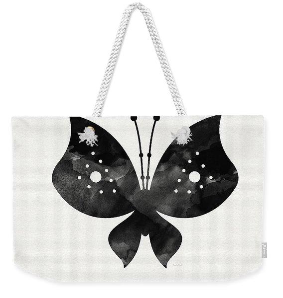 Midnight Butterfly 2- Art By Linda Woods Weekender Tote Bag